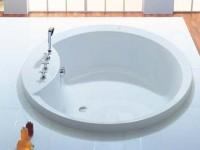 Hoesch Badewanne Orlando Rund 1600, weiß