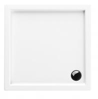 Neuesbad Acryl Quadrat Duschwanne 900 x 900 x 55 mm, weiss