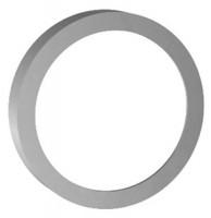 Keuco Verl.-Rosette Armaturenzub.59970, für FlexxBoxx,150/25mm rund,Schwarzchr.geb., 59970130281