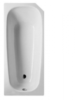 Bette Rechteck-Badewanne Profi-Form 3600, 160x70x42 cm weiß E82, 3600-000E82