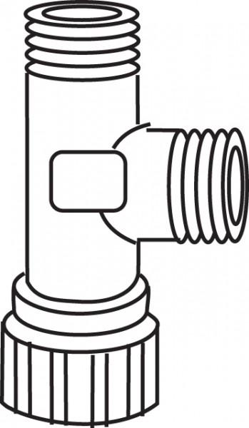 Mepa Eckventil 3/8 x3/8, SC UPSK Typ A21 und B21, 590704