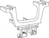 Mepa Umlenkarm für Betätigung, Eck-Spülkasten Typ E31, 590987