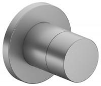 Keuco Ab- und Umstellventil IXMO Pure 59557 rund, Aluminium-finish, 59557170001