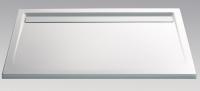 HSK Acryl Rechteck-Duschwanne super-flach 90 x 140 x 3,5 cm, mit integrierter Ablaufrinne