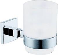Damixa AQUA BIANCA Zahnputzbehälter mit Wandhalter Chrom