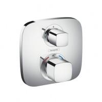 Hansgrohe Thermostat Unterputz Ecostat E Fertigset 1 Verbraucher chrom
