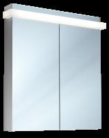 Schneider Spiegelschrank Taikaline/80/2/LED, 1x28W 800x785x120 alueloxiert, 158.080.02.50
