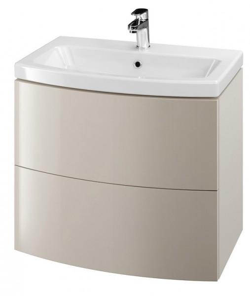 Neuesbad Serie 60 Waschtisch-Set 70cm, Keramikwaschtisch mit Unterschrank