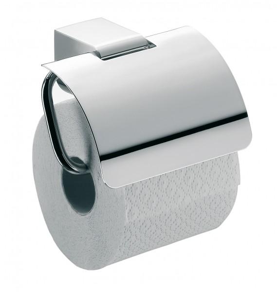 Emco mundo Papierhalter, mit Deckel, chrom, 330000100