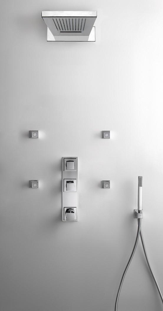 Tresmostatic Thermostat UP-Batterie 3 Wegverteiler) 107867