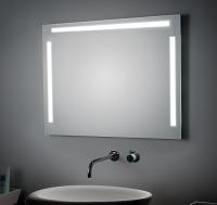 KOH-I-NOOR LED Spiegel mit Ober- und Seitenbeleuchtung, B: 1600, H: 800, T: 33 mm