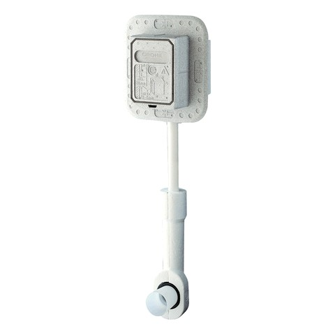 GROHE WC-Druckspüler 37048 Wandeinbau DN20 mit Anschluß für Magnetventil