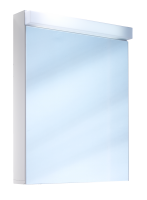 Schneider Spiegelschrank Lowline 60/1/LED, 1x12W LED 600x770x120 weiss, 151.260.02.02