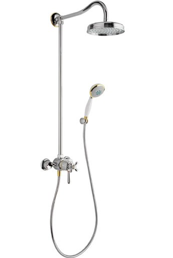 Showerpipe Axor Carlton chrom mit 17670000