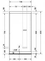 Duravit Sauna Inipi 1800x1170x2220mm