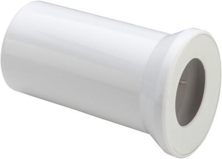 Viega WC Anschlussstutzen 3815 in 400mm Kunststoff moosgrün