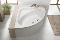 Hoesch Badewanne Parana Eck 1400 ohne Schürze,