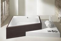 Hoesch Badewanne Thasos Trapez 1750x1100 links,