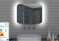 Neuesbad LED Lichtspiegel, B:800, H:600 mm