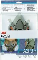 3M Deutschland GmbH Atemschutz-Halbmasken-Set 6223M A2P3R 9tlg. Inhalt:1x6200M 2x6055 4x5935 2x501,