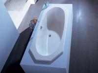 Hoesch Badewanne Armada 8-Eck 1800x800, weiß