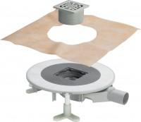 Viega Badablauf Advantix Top 4914.20 in DN50 Kunststoff Rahmen aus Edelstahl