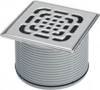 Viega Aufsatz 4922.6 in 150x150mm Kunststoff grau