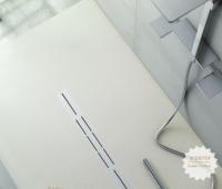 Fiora Silex Privilege Duschwanne, Breite 100 cm, Länge 120 cm, Farbe: weiss