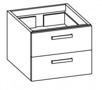 Artiqua COLLECTION 414 Waschtischunterschrank B:550mm
