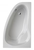Eckbadewanne Loredana Model A 1750x1100 mm, weiß