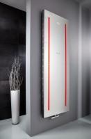 HSK Badheizkörper Atelier LED 608 x 1806 mm, Mittelanschluss, Farbe: graphit-schwarz