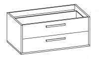 Artiqua EVOLUTION 213 Waschtischunterschrank B:1181mm f.Doppelwaschtisch