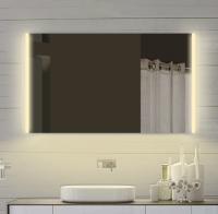 Neuesbad LED Lichtspiegel, Lichtfarbe wählbar, B:1200, H:700 mm