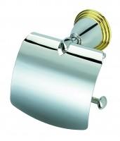 Geesa Montana Classic Toilettenpapierhalter mit Deckel