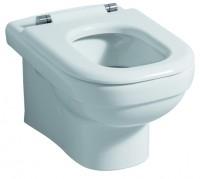 Keramag WC-Sitzring Dejuna, 572810, Scharniere: edelstahl, 572810000, weiss