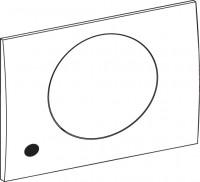 Mepa Sanicontrol 936 Frontpl., mit Sensorik ellipse weiß, 718306