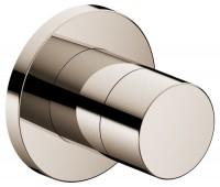 Keuco 3-Wege Ab-u.Umstellv.IXMO Pure 59549, rund, Nickel poliert, 59549040001