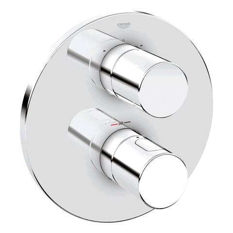Thermostat-Wannenbatterie Grohtherm 3000 C, 19465 Fertigmontageset für 34212 chrom 19465000