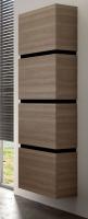Neuesbad Premium Serie 6 Hängehochschrank mit 4 Türen