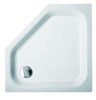 Bette 5-Eck-Duschwanne Caro 7250, 100x100x6,5 cm