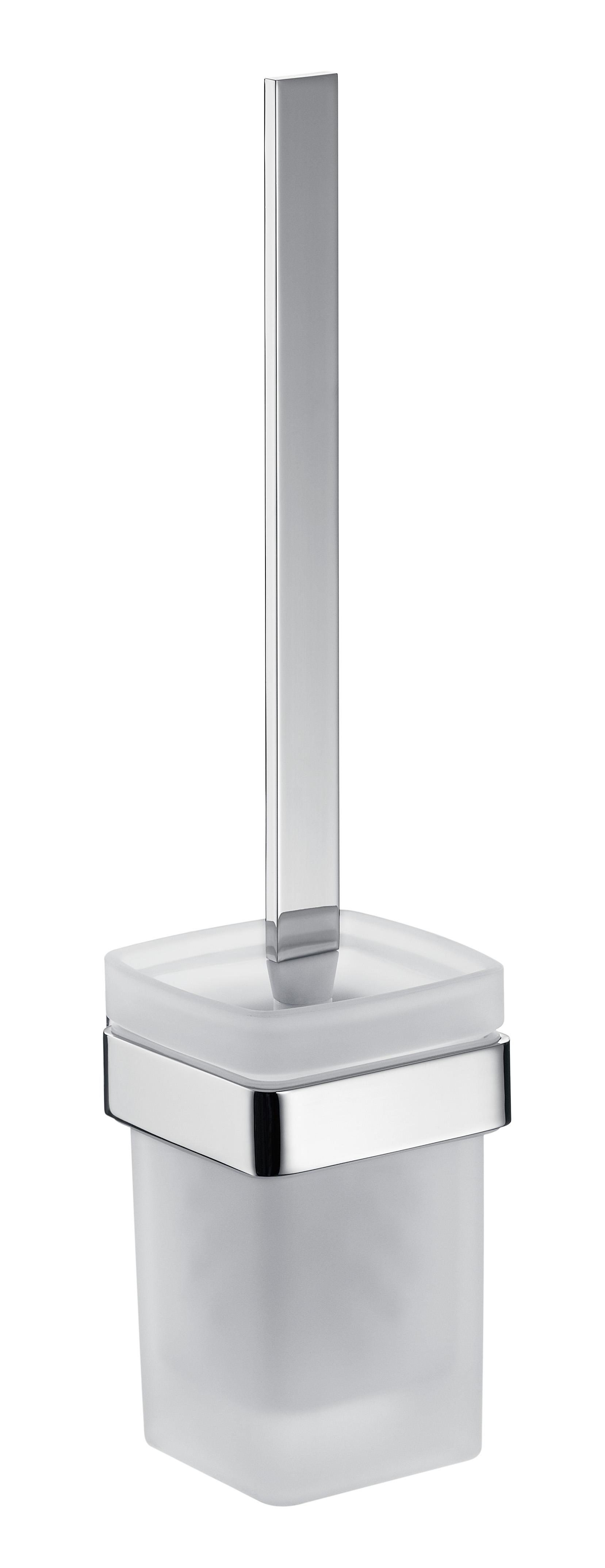 Emco loft Bürstengarnitur Kristallglas satiniert chrom