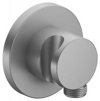 Keuco Schlauchanschluss IXMO 59592, mit Brausehalter, rund, Aluminium-finish, 59592170001