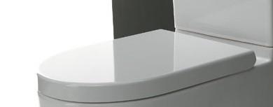 Evolution WC-Sitz, weiss AT1301