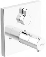 Hansa Funktionseinheit mit Dekorset Thermostat Wanenbatterie Hansaliving 4058, verchr., 40589073