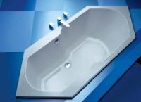 Hoesch Badewanne Arica 6-Eck 1900x800 , weiß