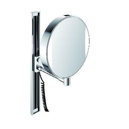 LED Rasier-und Kosmetikspiegel, 3/7-fach, chrom 109500112