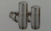 Caleido Anschluss-Set chrom für Standardanschluss