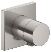 Keuco 2-Wege Umstellventil IXMO Pure 59556, Schlauchanschluss, eckig, Nickel geb., 59556050102