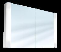 Schneider Spiegelschrank Pepline 100/2/FL, 2x24W+1x14W 1000x640x120 weiss, 153.100.02.02