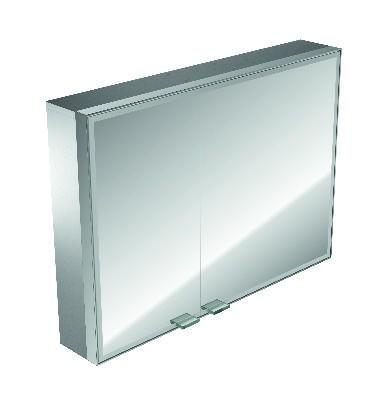 asis LED-Lichtspiegelschrank Prestige Aufputz, 987 mm, mit Radio, BTR, Farbwechsel 989706031